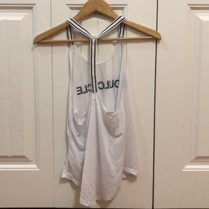 soulcycle Tops - SoulCycle White Tank, Size Small